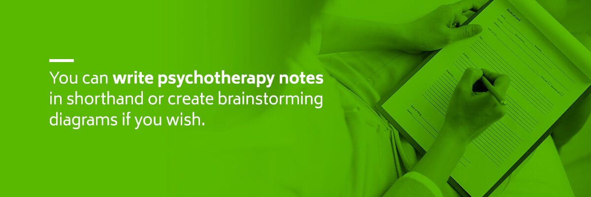 Psychotherapy Note Writing Tips