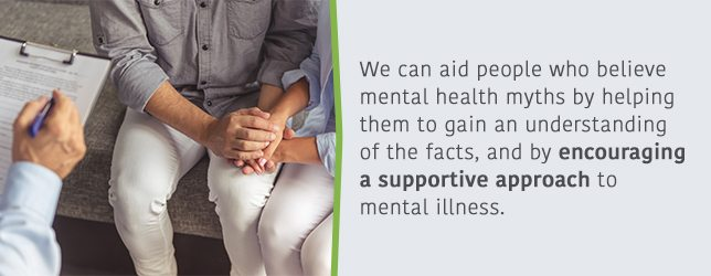 We can help people by showing encouragement and support