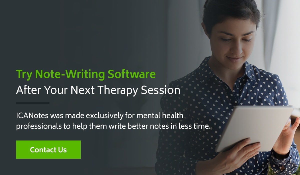Try Note-Writing Software After Your Next Therapy Session