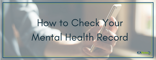 How to Check Your Mental Health Record