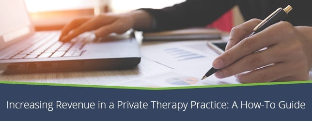 Increasing Revenue in a Private Therapy Practice