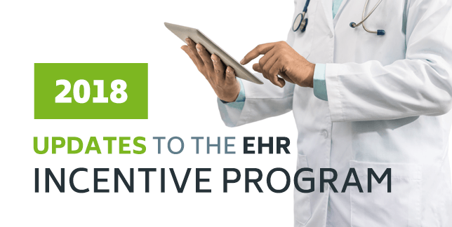 2018 Updates to the EHR Incentive (Promoting Interoperability) Program