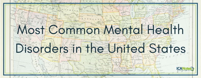 What are the most common mental health disorders in the United States_