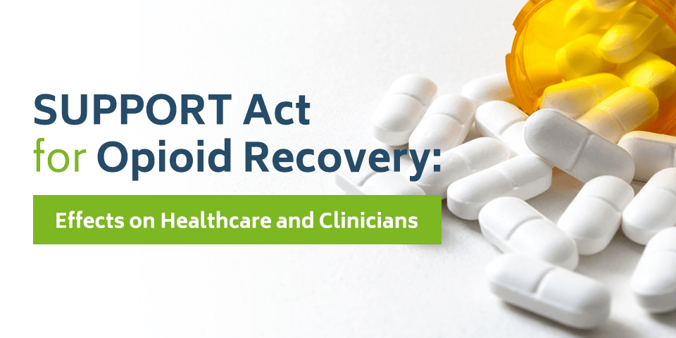 SUPPORT Act for Opioid Recovery - Effects on Healthcare and Clinicians