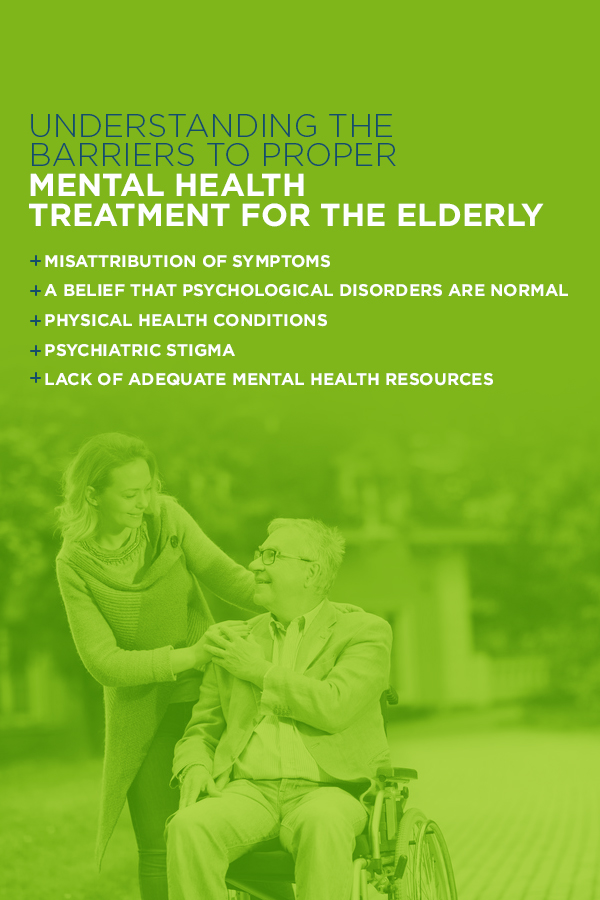 The Barriers to Proper Mental Health Treatment for the Elderly