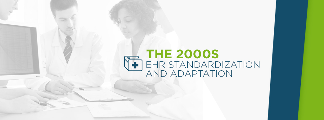 EHR Standardization & Adaptation in the 2000s