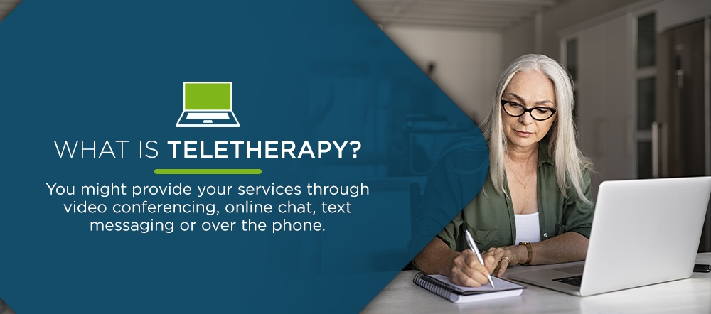 What is teletherapy and how can it help