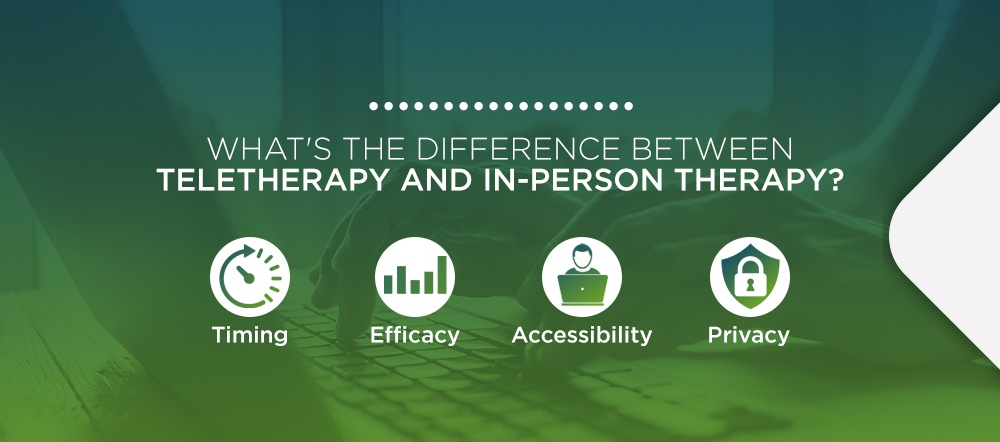 What's the Difference Between Teletherapy and In-Person Therapy?