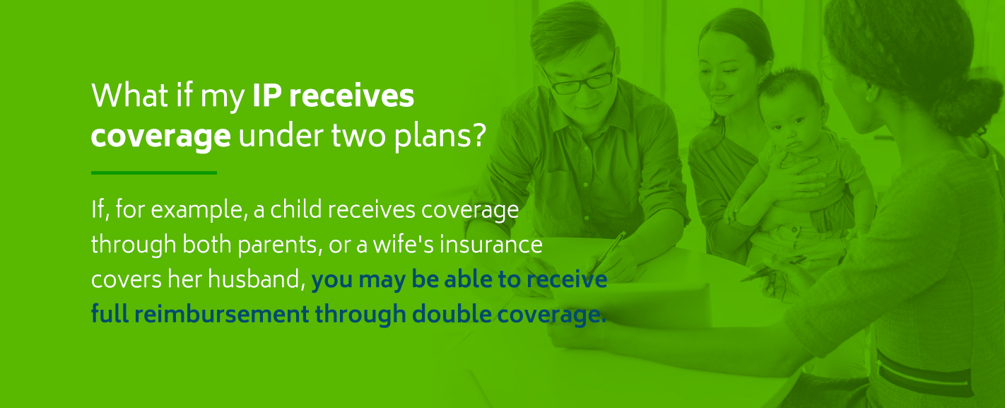 How to bill for mental and behavioral health services if your IP receives coverage under two plans