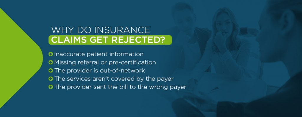 Why Do Insurance Claims Get Rejected? Reasons for Claim Denial