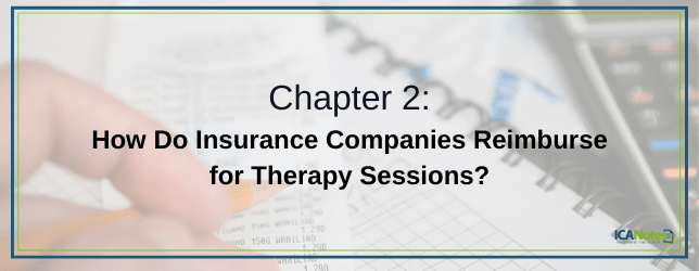 How do insurance companies reimburse for therapy sessions?