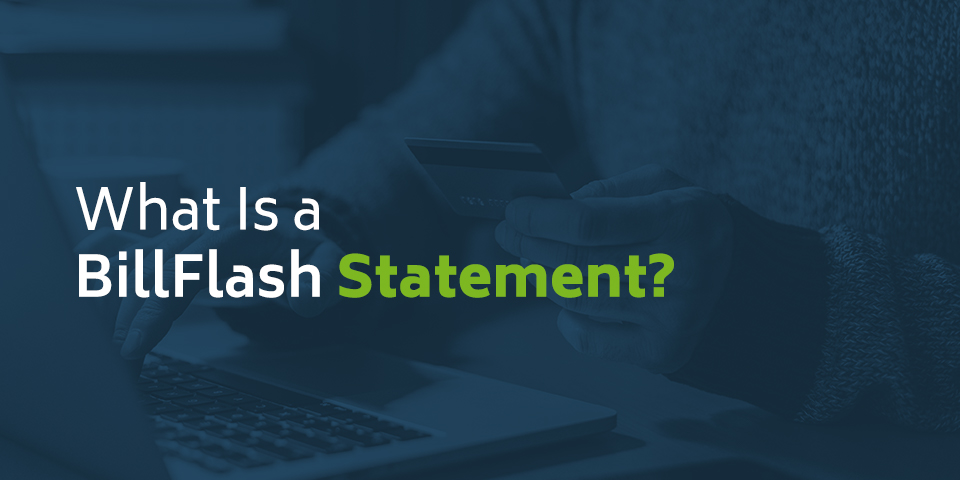 What is a BillFlash Statement?