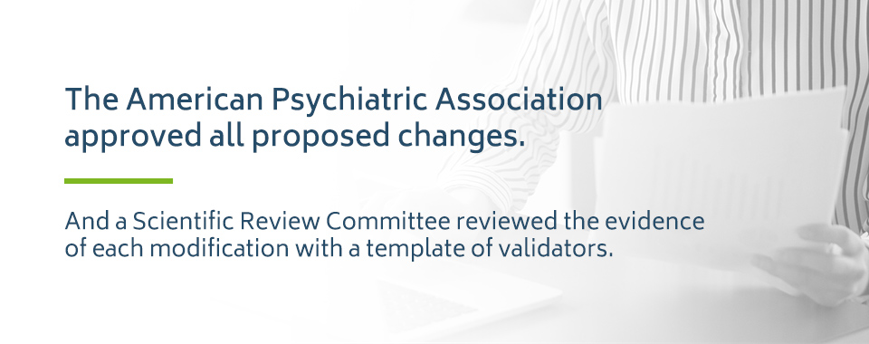 American Psychiatric Association and DSM-5 Changes