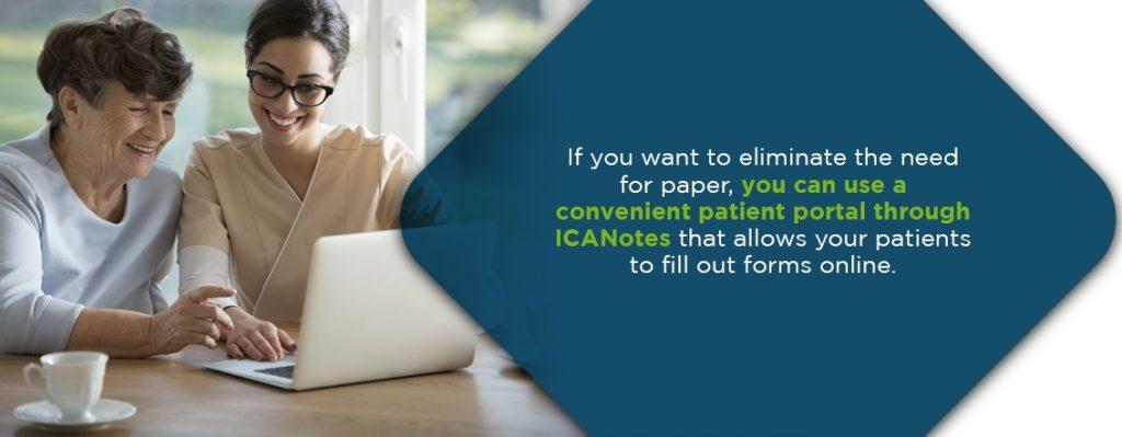 Behavioral Health EHR Practice Management Patient Portal