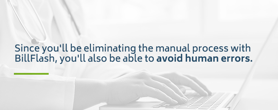 Avoid human error in behavioral health billing process with BillFlash