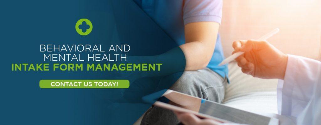 Intake Form Management for Behavioral Health through EHR Sofware