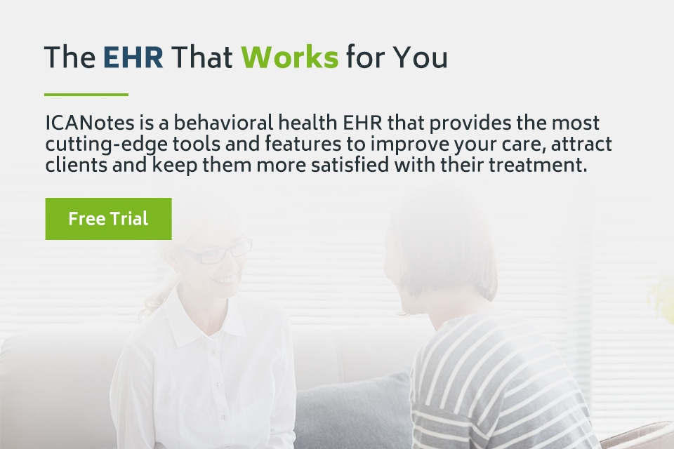 ICANotes Behavioral Health EHR