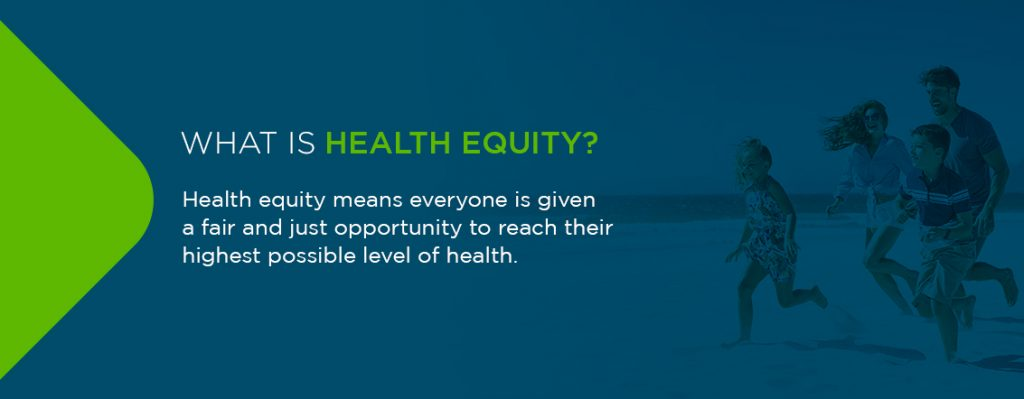 What is health equity