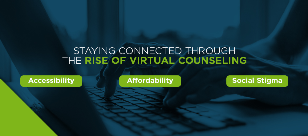 Rise in Virtual Counseling and Telehealth