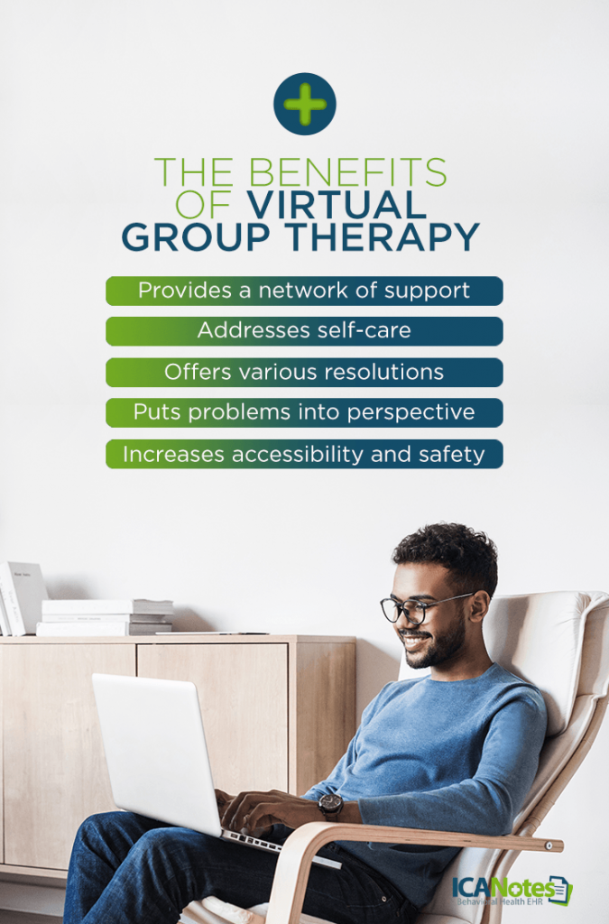 Benefits of Virtual Group Therapy