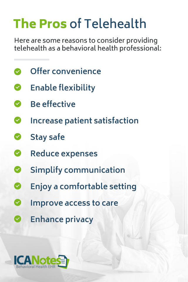 The Pros Benefits of Telehealth Services