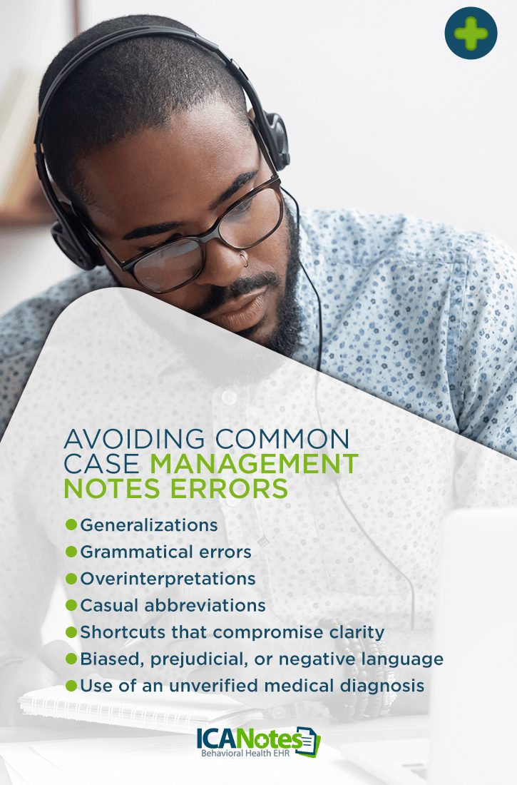 Avoid Common Case Management Notes Errors
