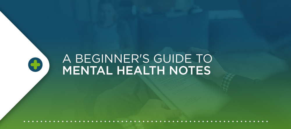 Beginner's Guide to Mental Health Notes