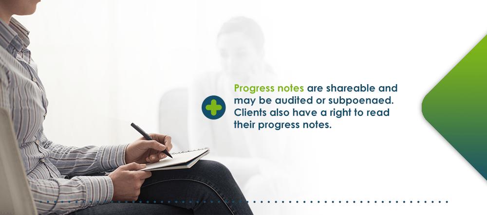 Progress notes definition