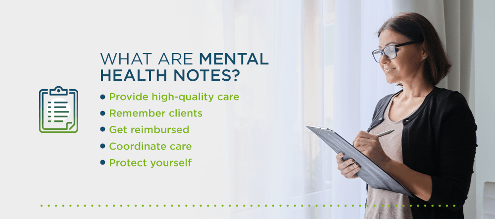 What Are Mental Health Notes?