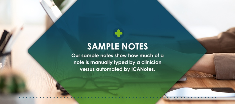 Sample Therapy Notes