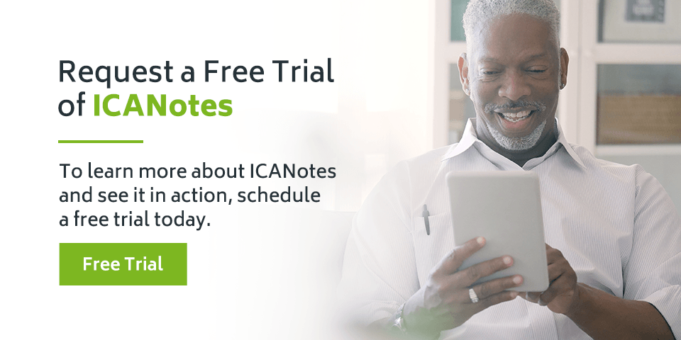 Request a Free Trial of ICANotes