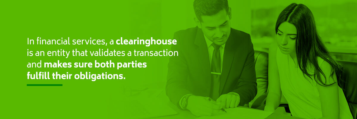 What is a clearinghouse definition