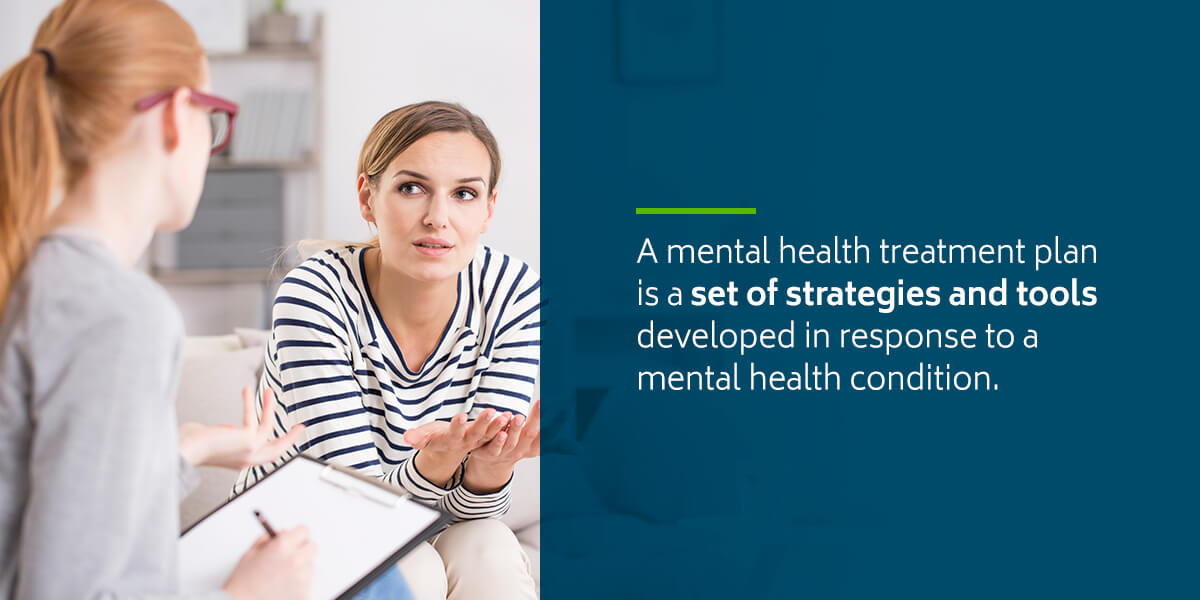 What is a mental health treatment plan?