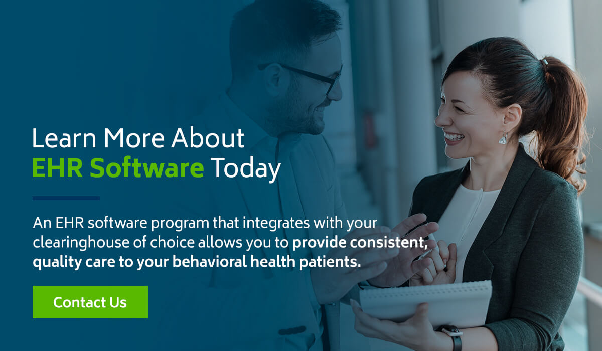 Learn more about EHR software and clearinghouses
