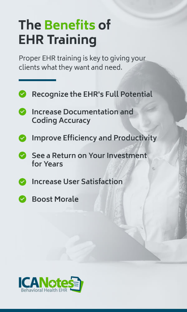 Benefits of EHR Training