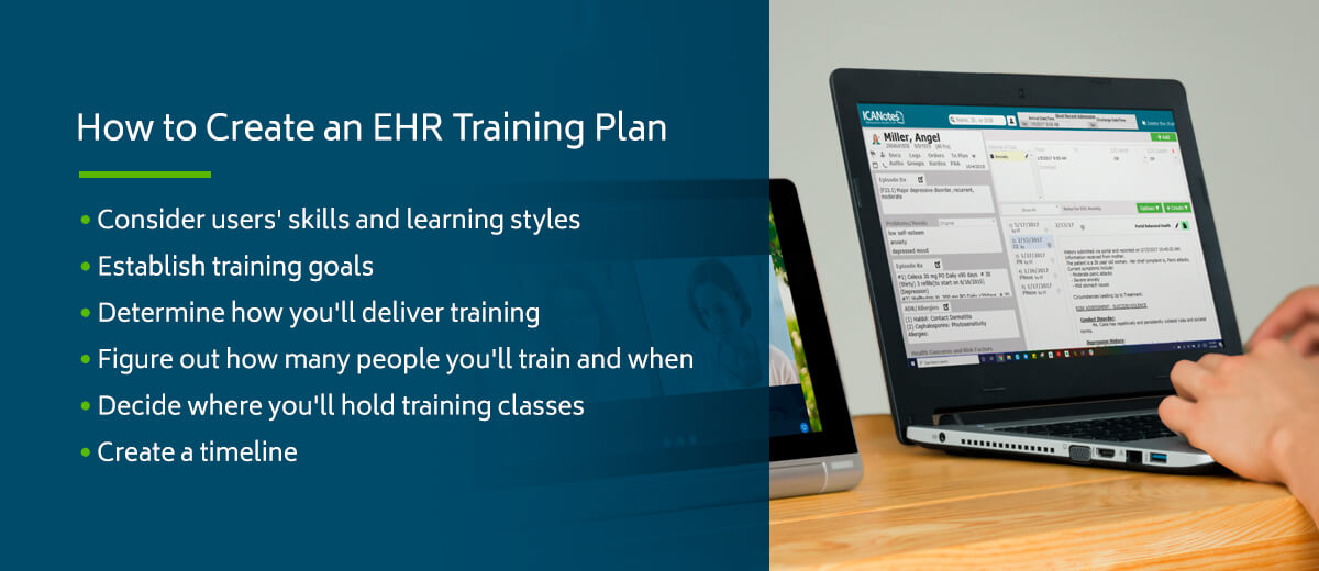 How to Create an EHR Training Plan